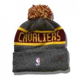 NEW ERA CAP NBA CLEVELAND CAVALIERS GREY/YELLOW/BORDEAUX