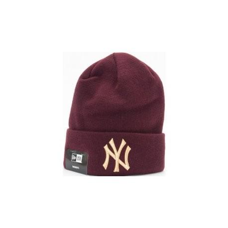 NEW ERA CAP NEW YORK YANKEES WOMENS BORDEAUX/GOLD