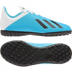 ADIDAS X 19.4 TF JR WHITE/CYAN